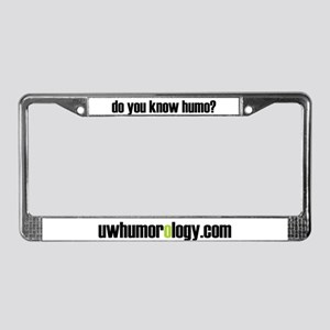 Humo License Plate Frame