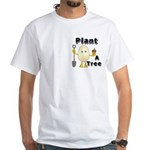 Arbor Day Pocket Image White T-Shirt