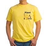 Arbor Day Pocket Image Yellow T-Shirt