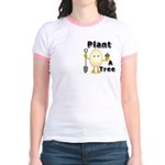 Arbor Day Pocket Image Jr. Ringer T-Shirt