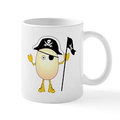 Pirate Egghead Mug