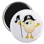Pirate Egghead Magnet
