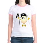 Pirate Egghead Jr. Ringer T-Shirt