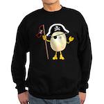 Pirate Egghead Sweatshirt (dark)