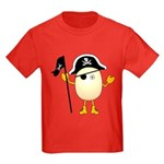 Pirate Egghead Kids Dark T-Shirt