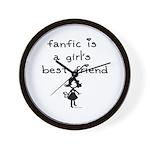 Fanfic Wall Clock