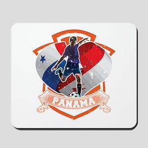 Football Worldcup Panama Panamanians Soc Mousepad