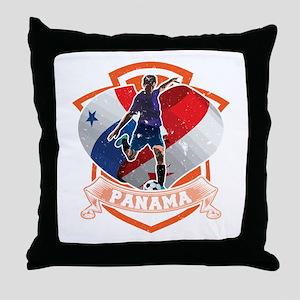 Football Worldcup Panama Panamanians Throw Pillow