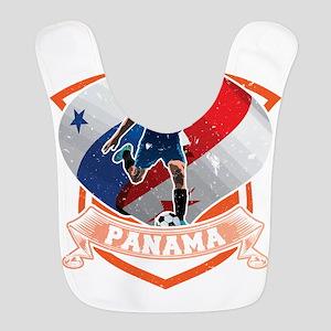 Football Worldcup Panama Panama Polyester Baby Bib
