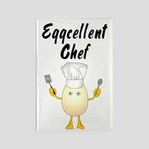 Eggcellent Chef Rectangle Magnet