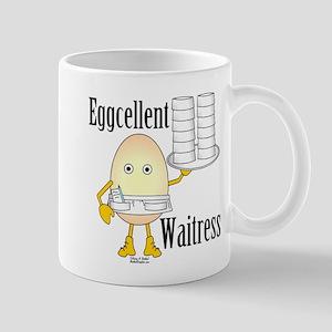 Eggcellent Waitress Mug