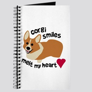 Corgi Smiles Melt My Heart Journal