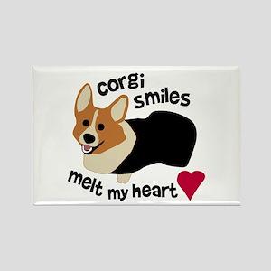 Corgi Smiles RHT Rectangle Magnet (10 pack)