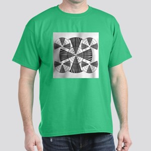 Test Pattern Sharpness Test Dark T-Shirt