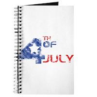 4th July Grunge Journal