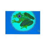frog Rectangle Magnet (100 pack)