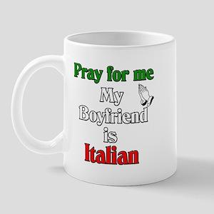 Pray for me my boyfriend is I Mug