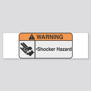 Shocker Hazard Bumper Sticker