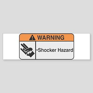 Shocker Hazard Bumper Sticker