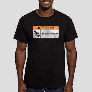 Shocker Hazard Men's Fitted T-Shirt (dark)