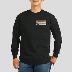 Shocker Hazard Long Sleeve Dark T-Shirt
