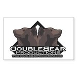 DoubleBear Rectangle Sticker
