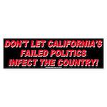 California Must Pay! (Bumper Sticker)