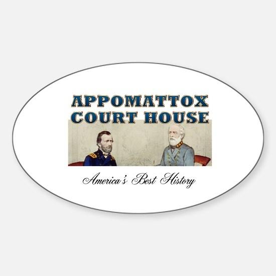 ABH Appomattox Sticker (Oval)