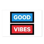 Good Vibes Postcards (Package of 8)