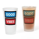 Good Vibes Drinking Glass