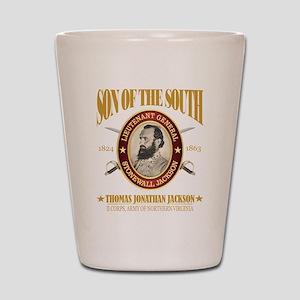 Stonewall Jackson Shot Glass