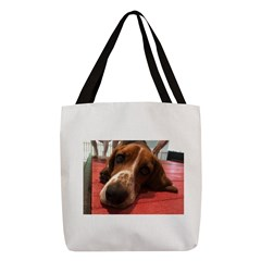 Basset Hound Polyester Tote Bag (2)
