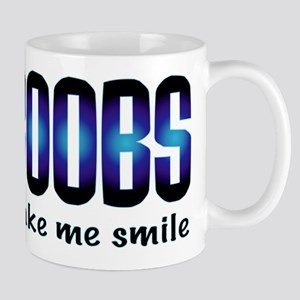 Boobs Make Me Smile Mug