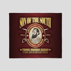 Stonewall Jackson Throw Blanket