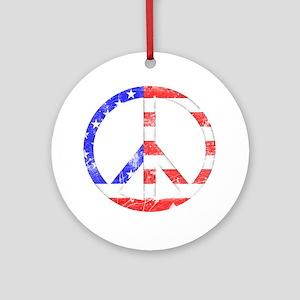 Liberty Peace Ornament (Round)