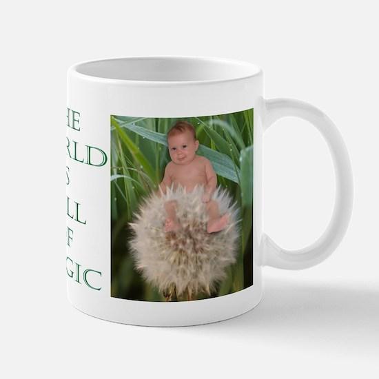 Dandelion Flower Baby Mug