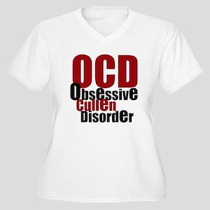 Obsessive Cullen Disorder Women's Plus Size V-Neck
