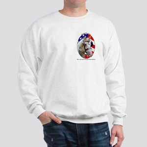 Patriotic Cream Sweatshirt