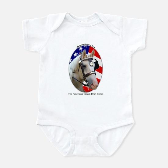 Patriotic Cream Infant Bodysuit