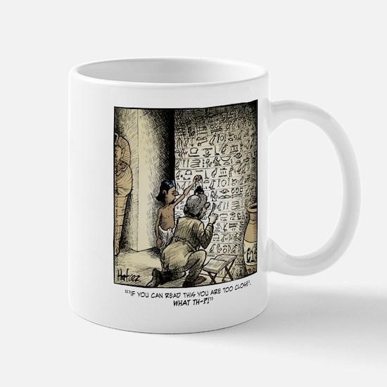 Joke Hieroglyphic Mug