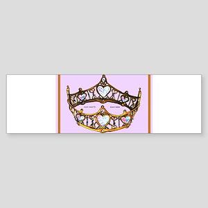 Queen of Hearts Gold Crown Tiara Pink Lilac rug Bu