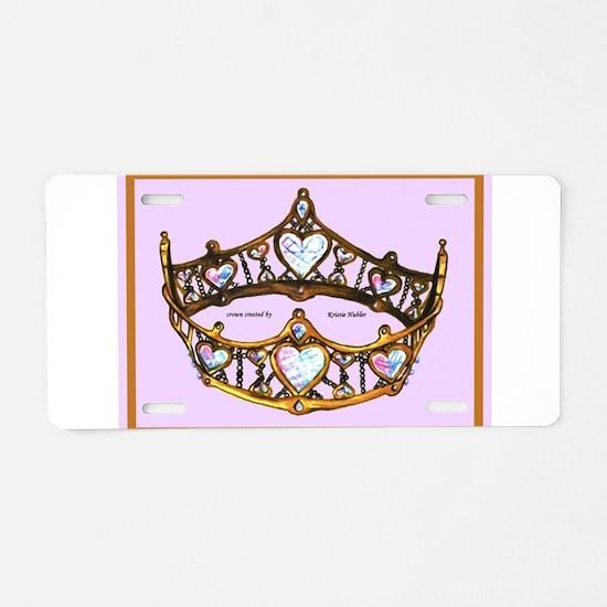 Queen of Hearts Gold Crown Tiara Pink Lilac rug Al