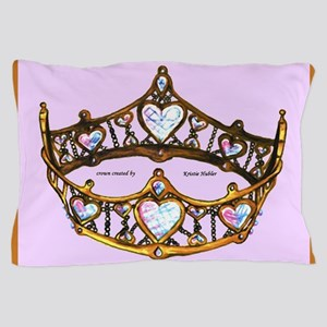 Queen of Hearts Gold Crown Tiara Pink Lilac rug Pi