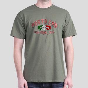 Boston North End Dark T-Shirt