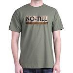 No-Till Farmer Black T-Shirt