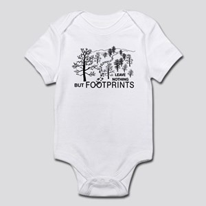 Leave Nothing but Footprints Infant Bodysuit