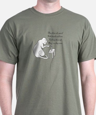 Bless Those Who Guard T-Shirt
