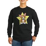 Star Kawaii Corgi Long Sleeve Dark T-Shirt