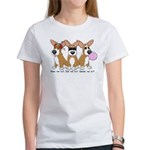 See No Evil Corgi Women's T-Shirt