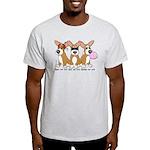 See No Evil Corgi Light T-Shirt